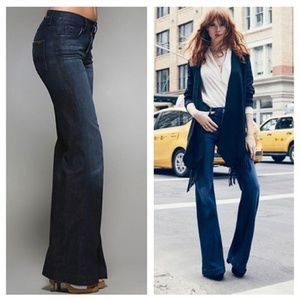 7 For All Mankind Ginger Flare High Rise Jeans 29